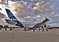 Airbus A380 prototype F-WWOW - Hamburg Airport 2007.jpg