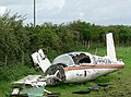 Aircraft wreckage at St Donats - geograph.org.uk - 925596.jpg