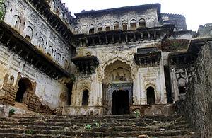 Ajaigarh - Entrance gate of Ajaigarh Palace