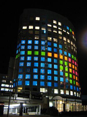 AkzoNobel - Former company headquarters in Amsterdam