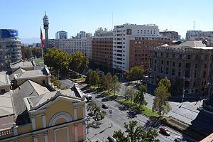 Alameda (Santiago) - Downtown.