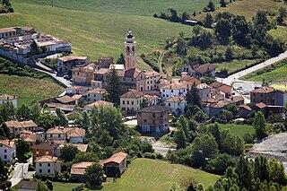 Albera Ligure Comune in Piedmont, Italy