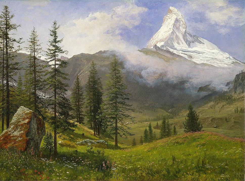 Albert Bierstadt - Matterhorn