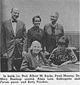 Albert M. Sacks, Pauli Murray, Dr. Mary Bunting; Alma Lutz, and Betty Friedan.jpg