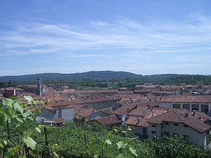 Albiano d'Ivrea - Image: Albiano Ivrea Panorama