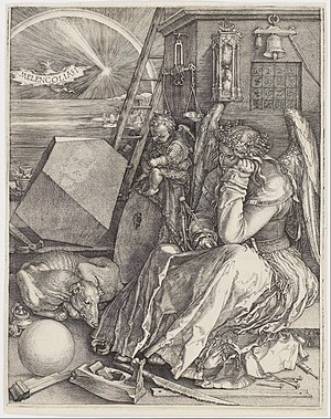 Melencolia I - Image: Albrecht Dürer Melencolia I Google Art Project ( AG Ddr 3EHm N Gy A)