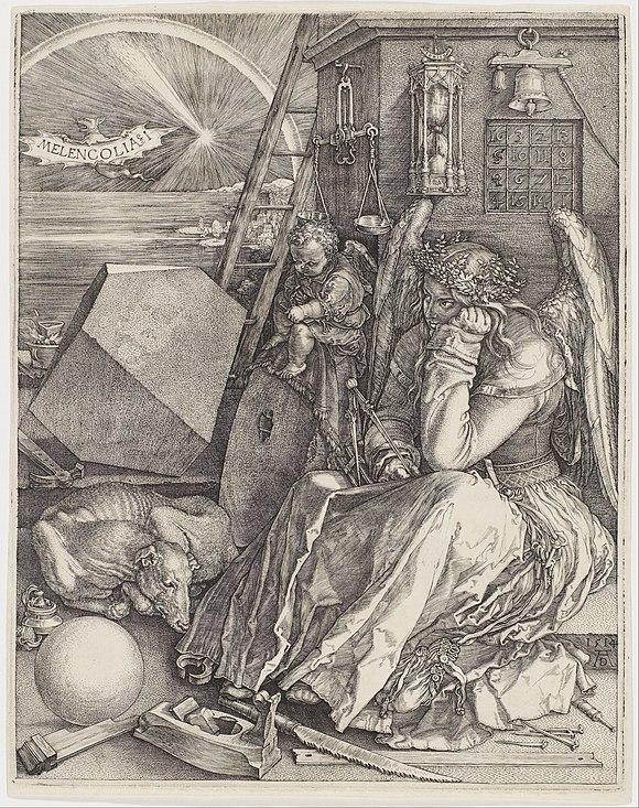 [Image: 580px-Albrecht_Dürer_-_Melencolia_I_-_G...GyA%29.jpg]