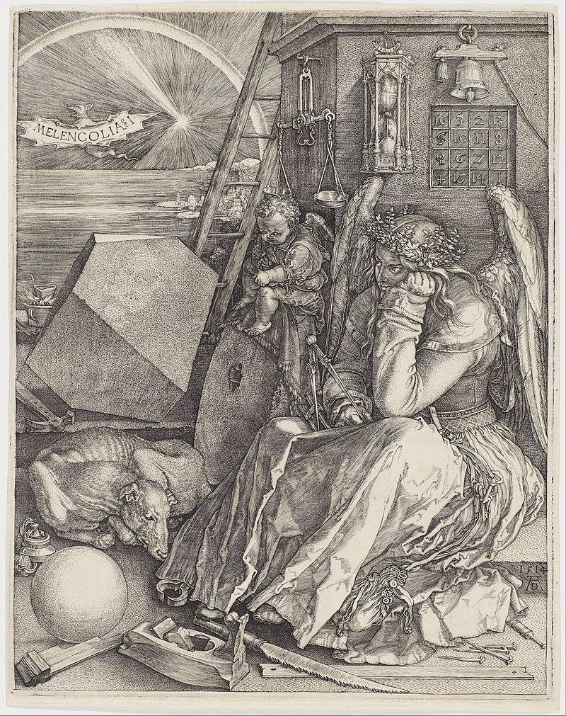 Albrecht Dürer - Melencolia I - Google Art Project ( AGDdr3EHmNGyA).jpg
