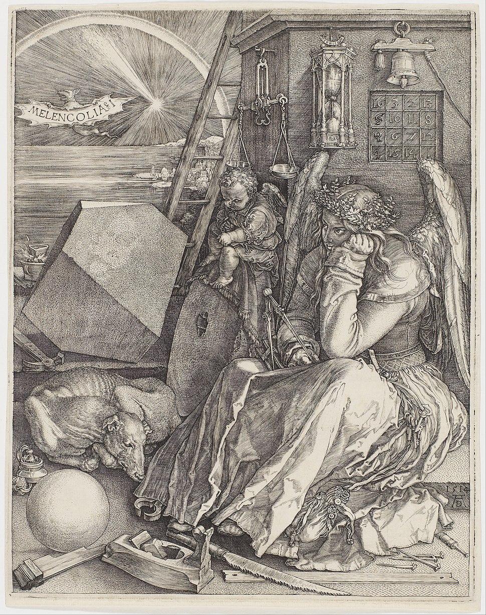 Albrecht Dürer - Melencolia I - Google Art Project ( AGDdr3EHmNGyA)