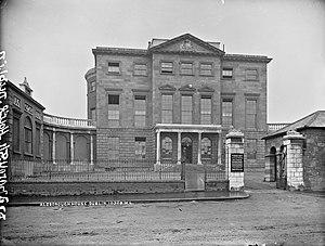 Aldborough House - Aldborough House in the late 1800s