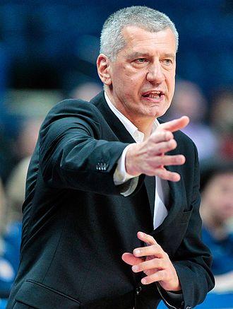 Aleksandar Petrović (basketball) - Petrović coaching Lietuvos rytas in February 2014