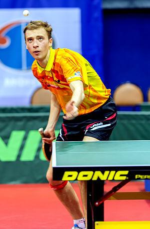 Table tennis - Service by Alexander Shibaev