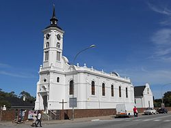 The Dutch Reformed Church, a Provincial Heritage Site,[1] in Alexandria