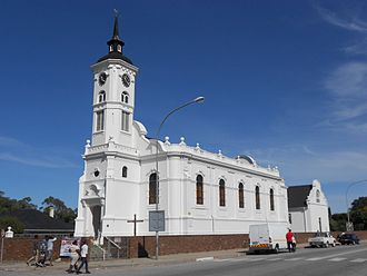 Alexandria, Eastern Cape - The Dutch Reformed Church, a Provincial Heritage Site, in Alexandria