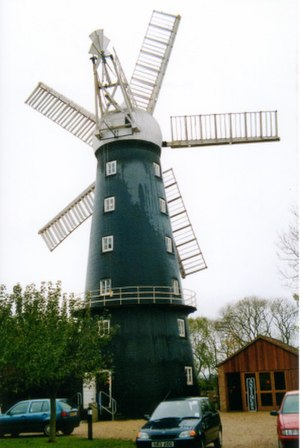 Alford Windmill - Hoyles Mill, October 2002