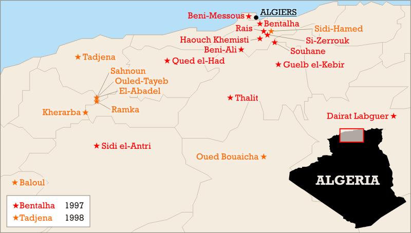 Algerian massacres 1997-1998