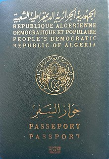 Visa Requirements For Algerian Citizens Wikipedia