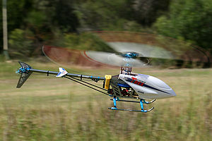 Radio-controlled helicopter - Electric-powered Align T-rex 450SE