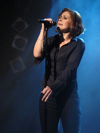 Alison Moyet - Alison Moyet in the Gruenspan Hamburg, September 2013