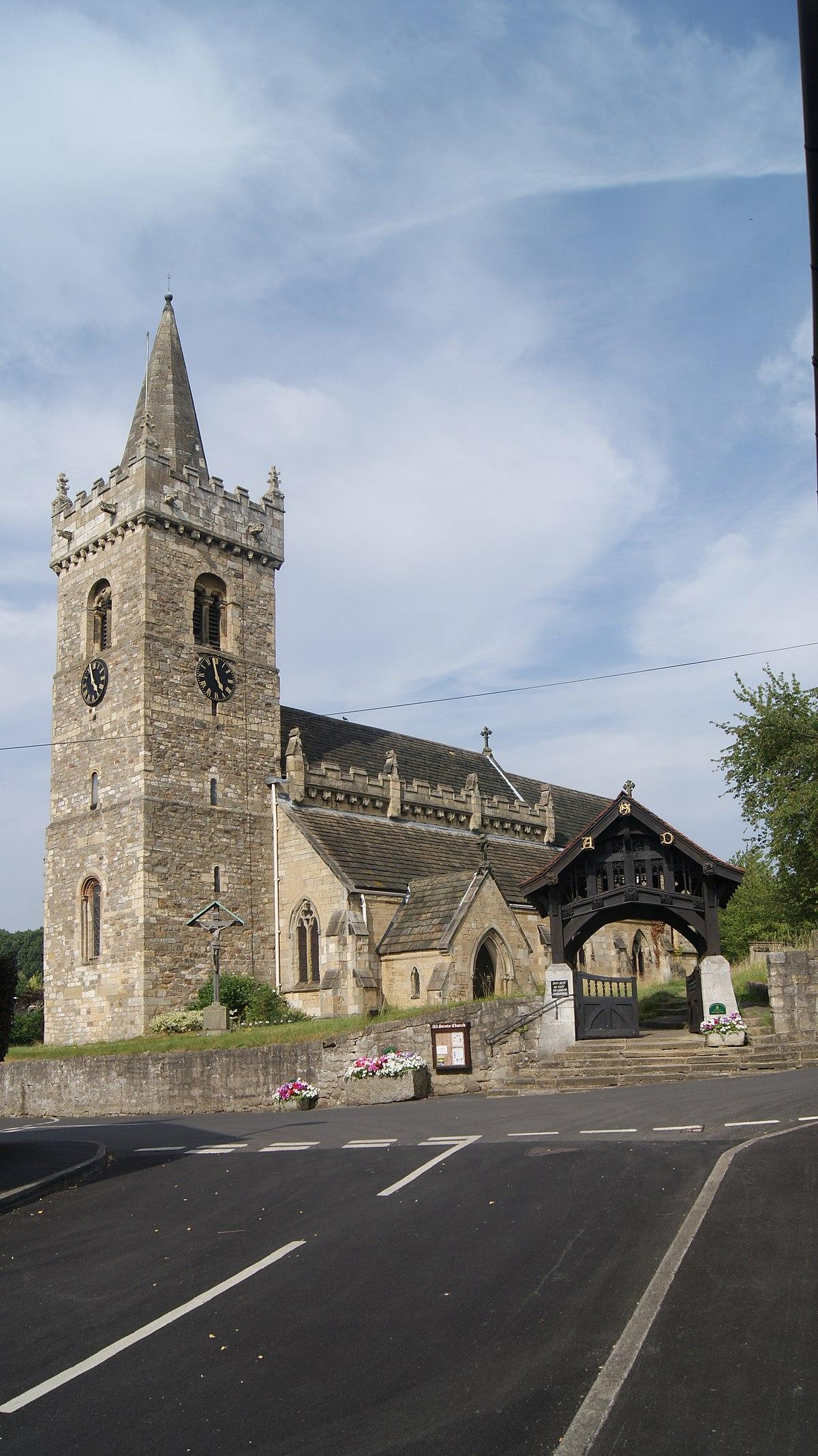 All Saints' Church, Bramham, West Yorkshire (15th July 2013) 002.jpg