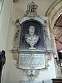 All Saints Church, Middle Claydon, Bucks, England - Mary Verney monument.jpg