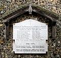 All Saints Church - the war memorial - geograph.org.uk - 1348148.jpg