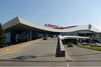 Almaty International Airport - Image: Almaty Airport Osokin 1