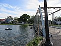 Along Bayou St. John, New Orleans - Magnolia Bridge, April 2016 01.jpg