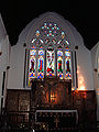 Altar and window, Stapleton Church.JPG