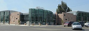 Alum Rock, San Jose - The Alum Rock branch of the San José Public Library.