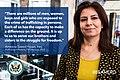 Ameena Saeed Hasan, Iraq, 2015 TIP Heroine (19899119569).jpg
