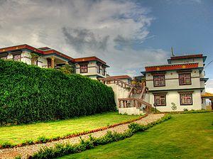 Buddhism in Nepal - Amitabha Monastery in Nepal.