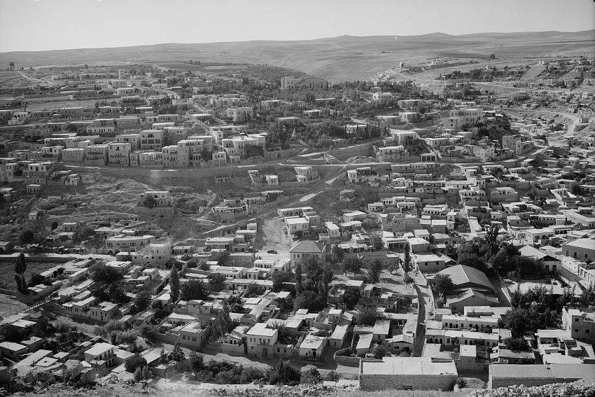 Amman, Transjordan in 1940