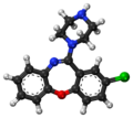 Amoxapine ball-and-stick model.png