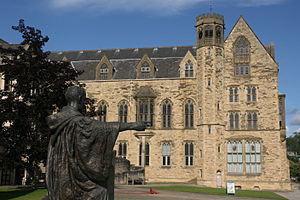 Ampleforth Abbey - College buildings