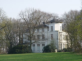 Amsinck family - A villa of the Amsinck family in Hamburg