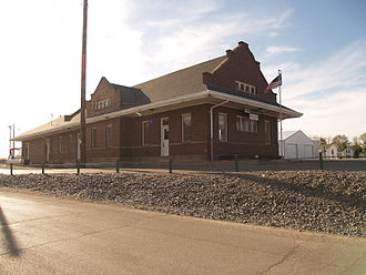 Samuel L. Bartlett - Image: Amtrak Rugby, North Dakota