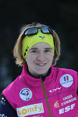 Anais Bescond in Antholz 2011