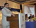 Anand Sharma addressing at the launch of a new Buyers Credit Scheme initiated under the National Export Insurance Accounts (NEIA) to promote project exports from India, in New Delhi on April 06, 2011.jpg