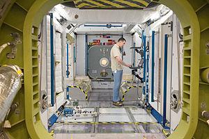 Anatoli Ivanishin - Anatoly Ivanishin participates in a training session at NASA's Johnson Space Center.