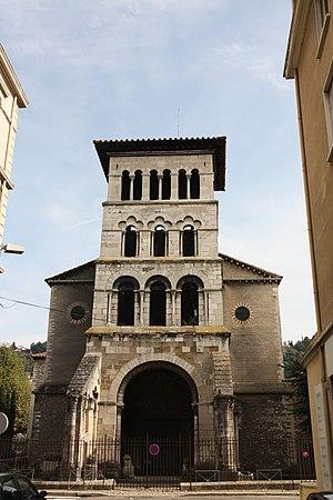 Saint Peter's church, Vienne (Isère) - Image: Ancienne église Saint Pierre (Vienne). 001