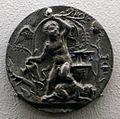 Andrea briosco detto il riccio, bacco fanciullo e un satiro, 1500-10 ca.jpg