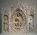 Andrea da Giona, Altarpiece with Christ in Majesty, Saint John the Baptist and Saint Margaret, 1434 (5445882344).jpg
