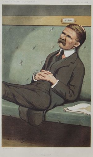 "Leader of the Opposition (United Kingdom) - ""the opposition""Bonar Law as caricatured in Vanity Fair, April 1912"