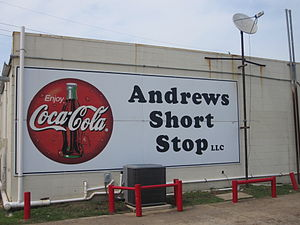 Sarepta, Louisiana - Andrews Short Stop is a convenience store near the municipal building off U.S. Highway 371 in Sarepta.