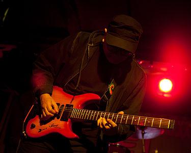 Russian rock musician Vladimir Ratzkevitch