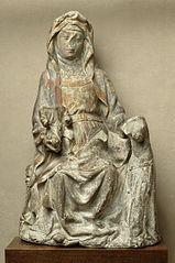 Sainte Anne, Jésus et la Vierge