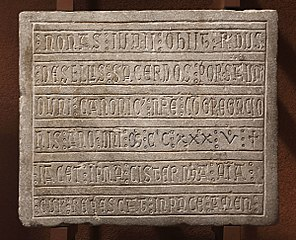 Épitaphe de Raymundus de Sellis