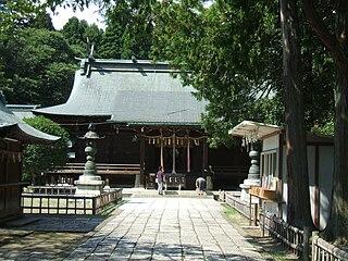 Shinto shrine in Miyagi Prefecture, Japan