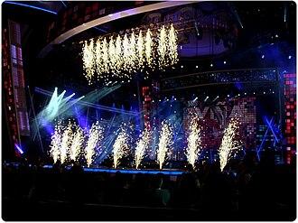 Viña del Mar International Song Festival - Image: Apertura del Festival de Viña 2010